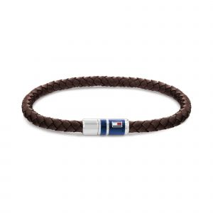 Tommy Hilfiger Braided Leather férfi karkötő THJ2790295